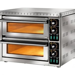 The Abfab Twin Glass Pizza Oven