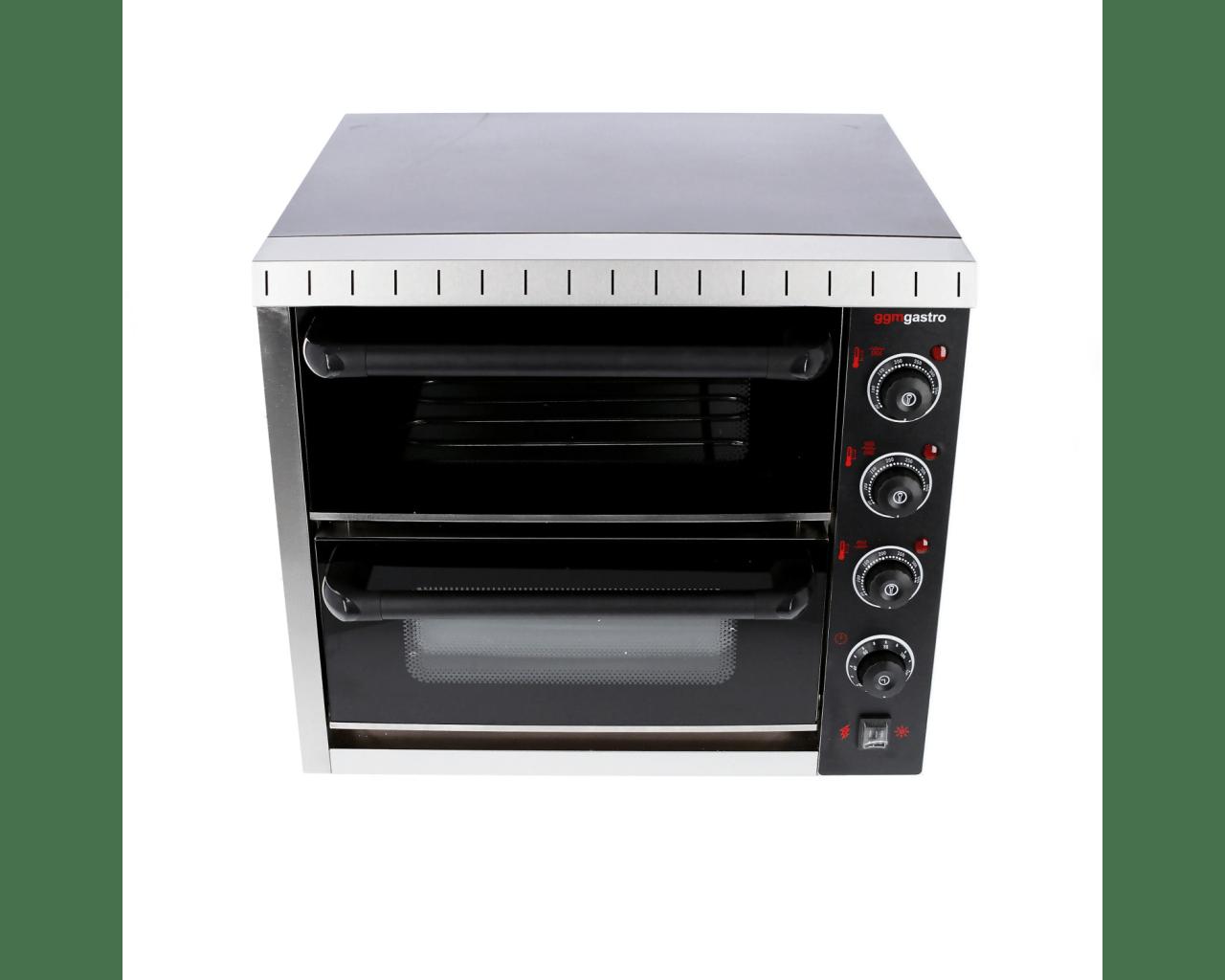 MD Black pizza oven