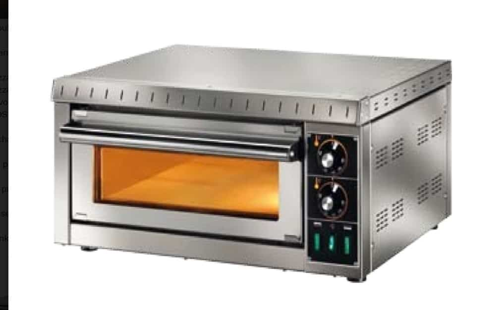 AbFab Steel Pizza Oven